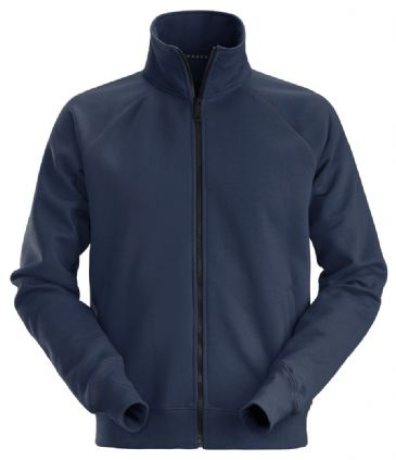 Snickers 2886 AllroundWork Full Zip Sweatshirt Jacket (Navy)